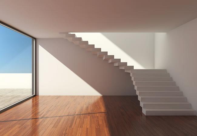 Betonnen trap plaatsen alles over de betontrap zetten betonnen trap